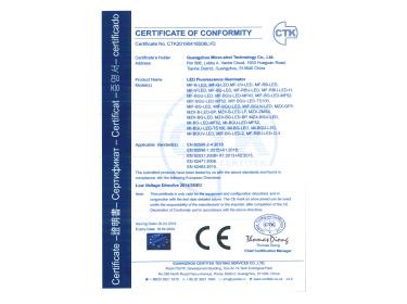 LED Fluorescence Illuminator CE Certificate