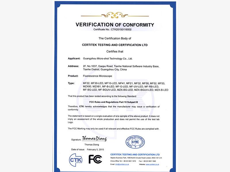 FCC-MSHOT fluorescence